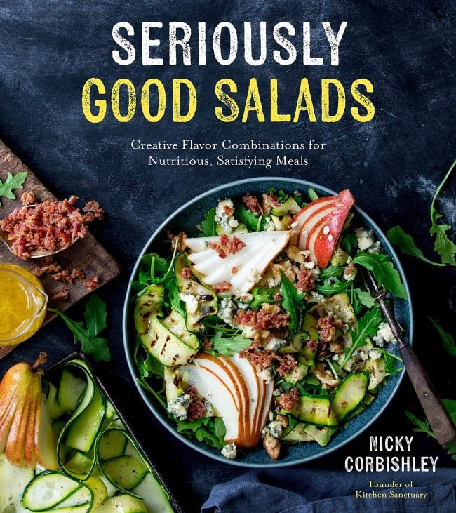 Seriously Good Salads book cover.